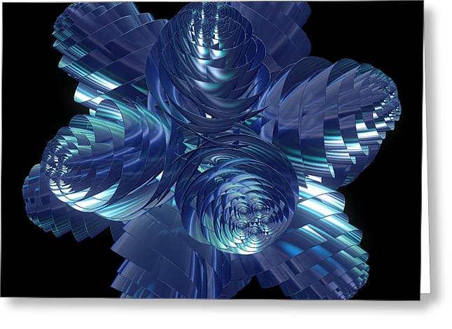 Cosmic Pine Cones By Jammer Greeting Card