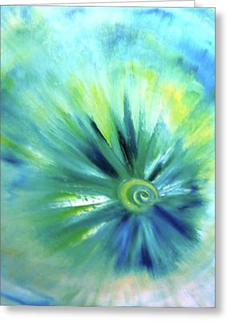 Cosmic Greeting Card by Rashne Baetz