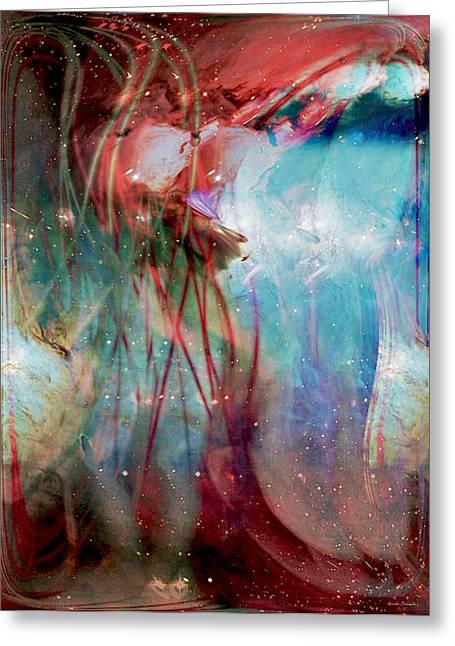 Cosmic String Greeting Card