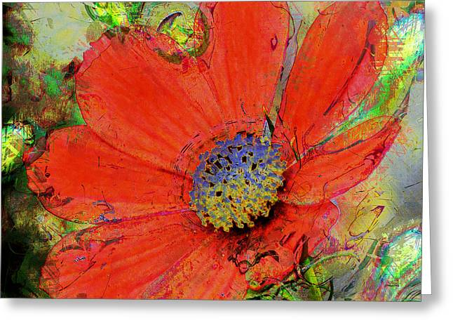 Cosmos Flower No. 1 Greeting Card
