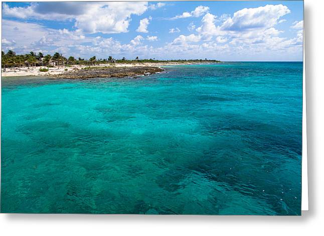 Costa Maya  Greeting Card