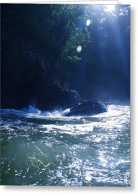 Costa Rica Light Greeting Card