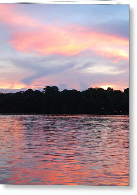 Costa Rica Sunset Greeting Card