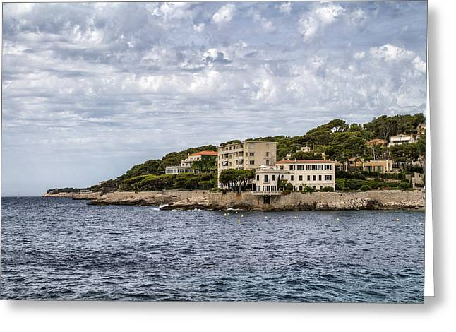Cote D'azur - South Of France Greeting Card