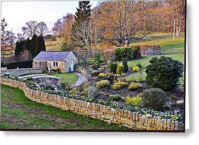 Cotswold Cottage Greeting Card