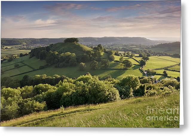 Cotswolds 1 Greeting Card by Rod McLean