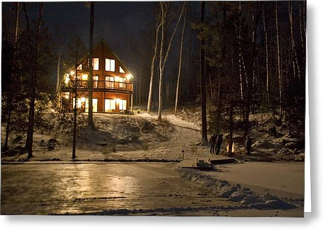 Cottage Country - Winter Greeting Card