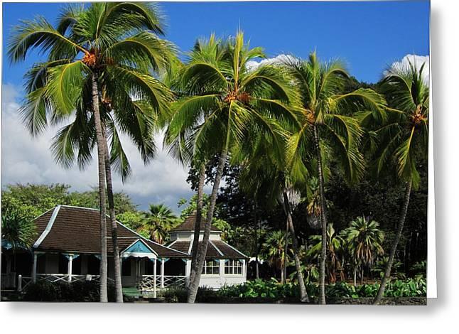 Cottage Of Kamehameha The V Greeting Card