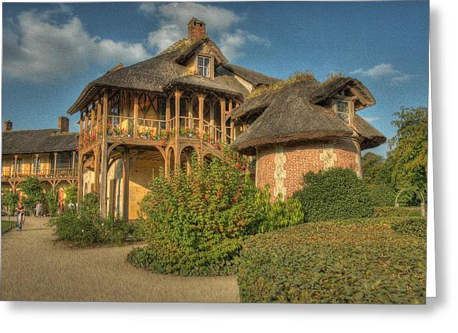 Cottage Versailles Greeting Card