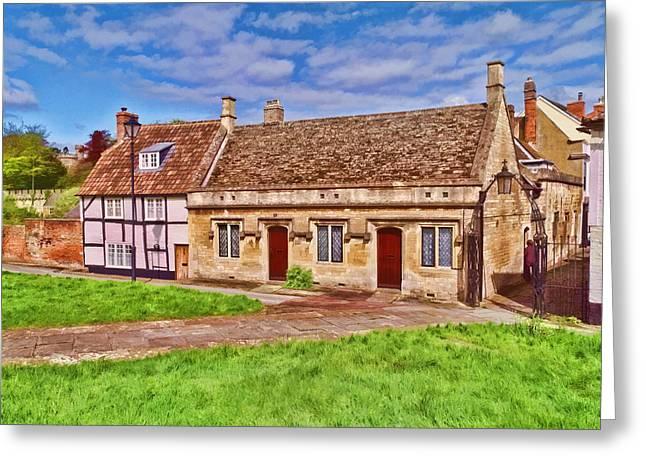 Cottages Devizes -2 Greeting Card