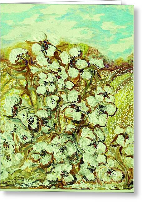 Cotton ... A Way Of Life Greeting Card