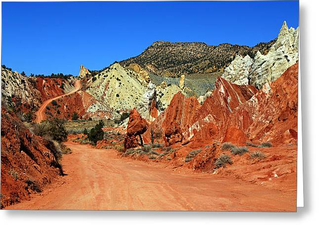 Cottonwood Canyon Road IIi Greeting Card