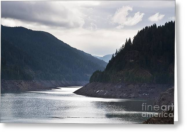 Greeting Card featuring the photograph Cougar Reservoir by Belinda Greb