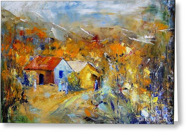 Couleurs D'automne Greeting Card