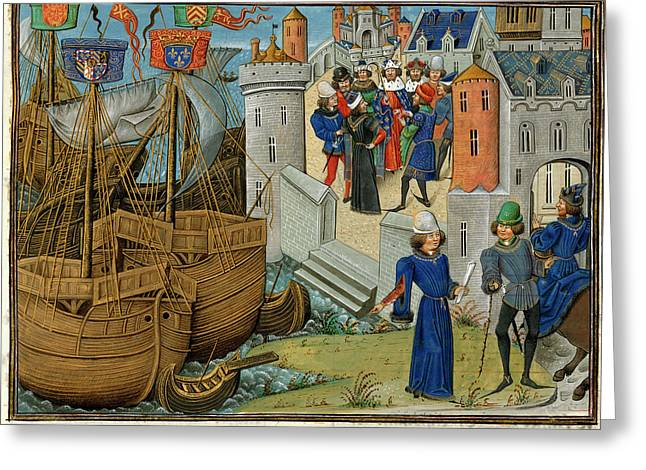 Council Of The King Of France Greeting Card by British Library