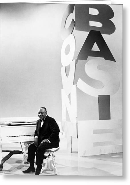 Count Basie (1904-1984) Greeting Card