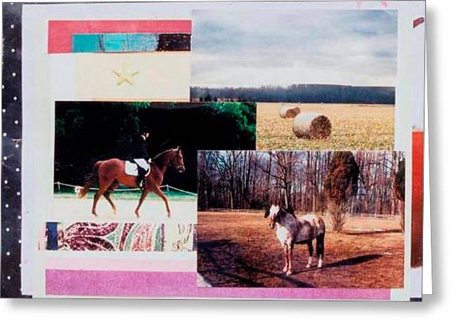 Country Collage 6 Greeting Card