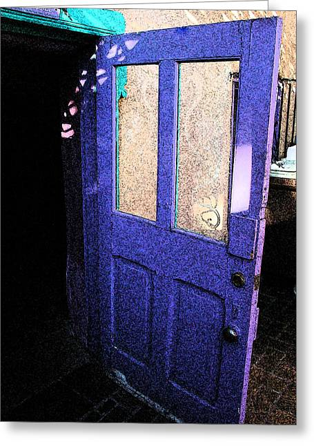 Country Door Greeting Card