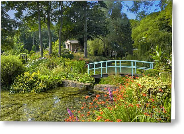 Country Garden Greeting Card by Darren Wilkes