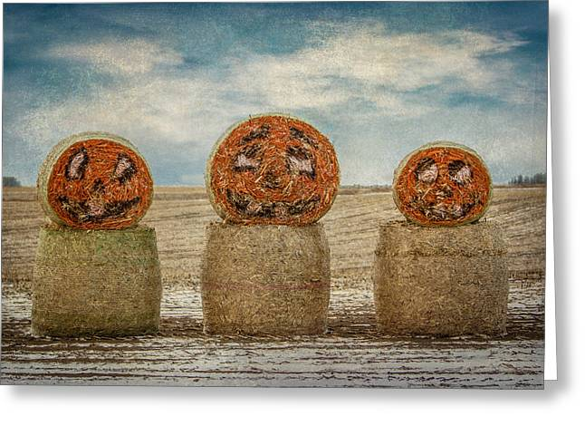 Country Halloween Greeting Card