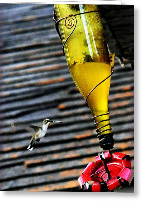 Country Hummer2 Greeting Card by Leon Hollins III