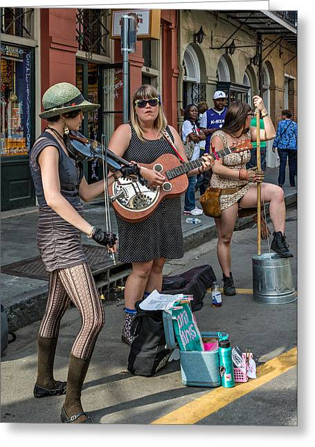 Country In The French Quarter Greeting Card by Steve Harrington