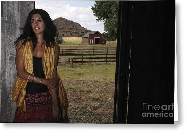 Greeting Card featuring the photograph Country Living by Sherry Davis