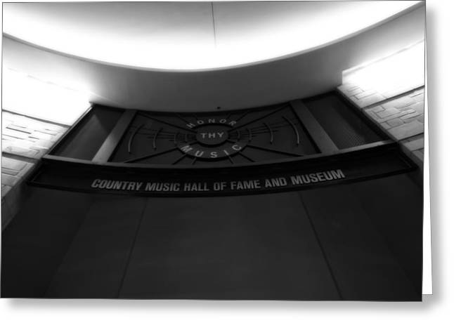 Country Music Hall Of Fame And Museum Greeting Card by Dan Sproul