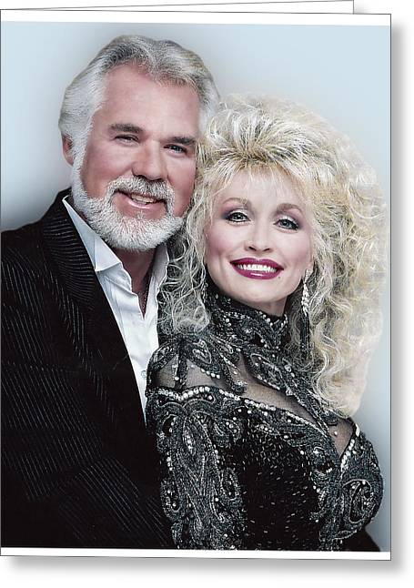 Country Music Royalty Greeting Card by Brian Graybill