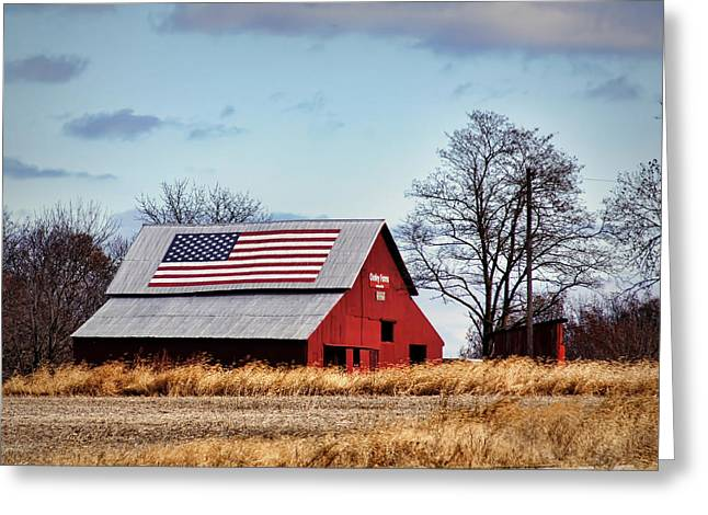 Country Pride Greeting Card by Cricket Hackmann