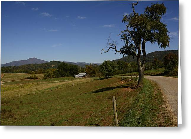 Country Road Greeting Card by Michael Gooch