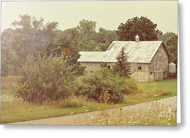 Country Road - Take Me Home Greeting Card by Brian Mollenkopf