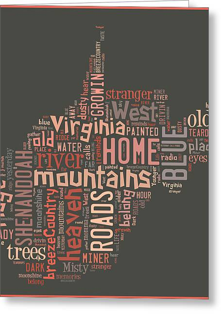 Country Roads 4 Greeting Card