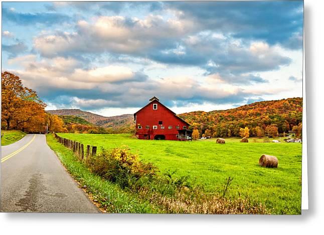 Country Road...west Virginia Greeting Card by Steve Harrington