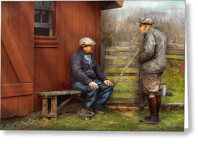 Country - The Farmhands Greeting Card
