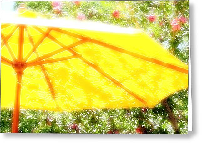 Country Umbrella Greeting Card