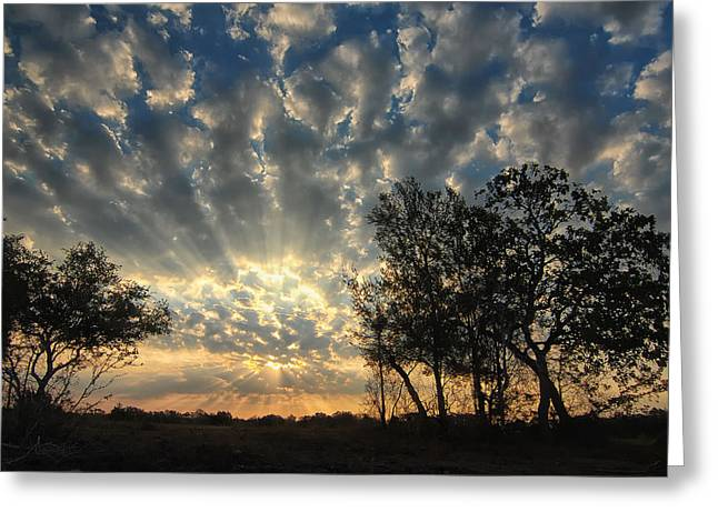 Countryside Sunrise Greeting Card