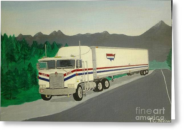 Countrywide Kenworth Greeting Card