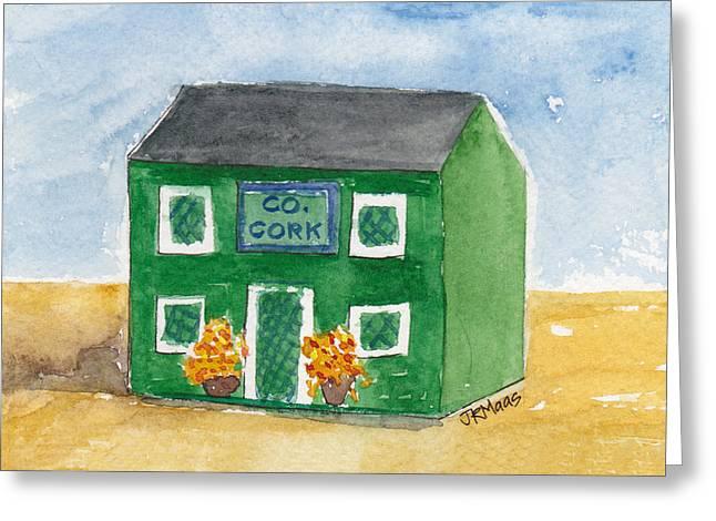 County Cork Greeting Card by Julie Maas