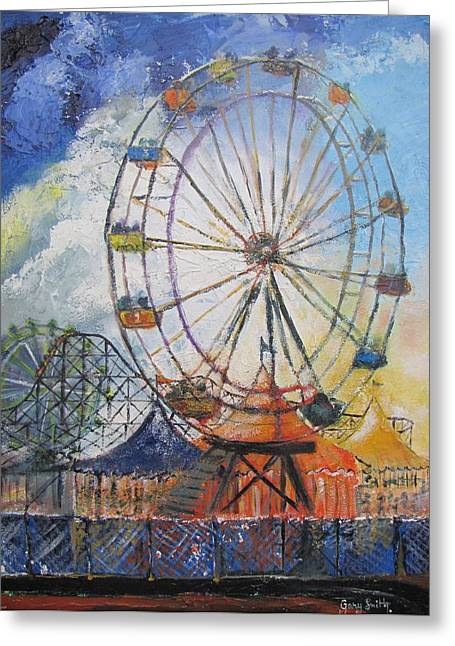 County Fair Greeting Card by Gary Smith