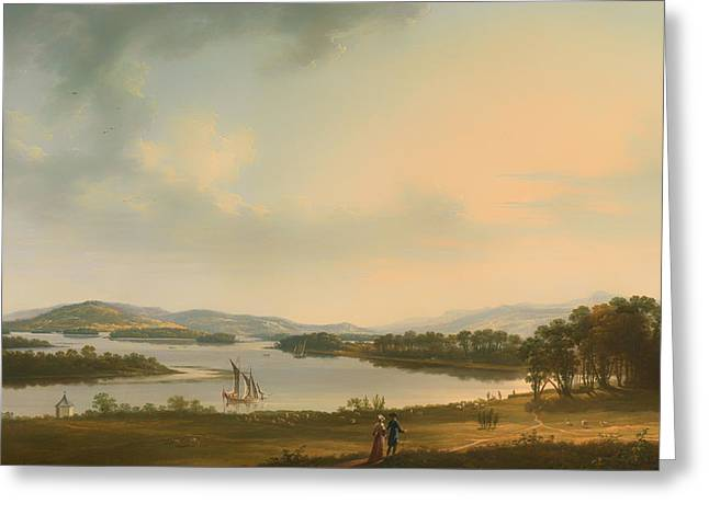 County Fermanagh Ireland Greeting Card by Mountain Dreams