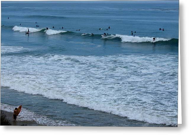County Line Surfers Greeting Card