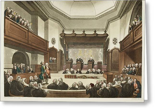 Court Of Common Pleas Greeting Card
