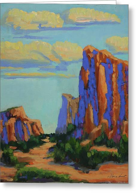 Courthouse Rock In Sedona Greeting Card
