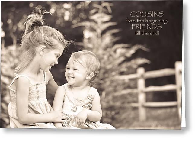 Cousins Greeting Card
