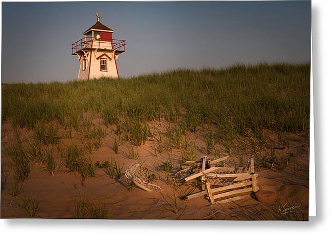 Covehead Harbour Lighthouse Greeting Card