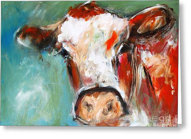 Bovine Wall Art  Greeting Card