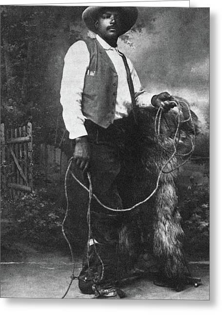 Cowboy Ben Pickett Greeting Card