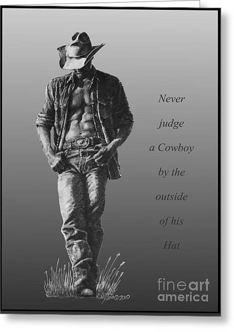 Cowboy Hat Verse Greeting Card