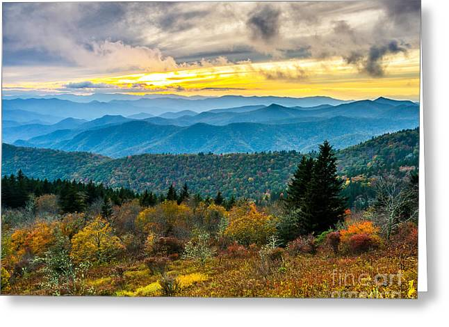 Cowee Mountain Glory Greeting Card